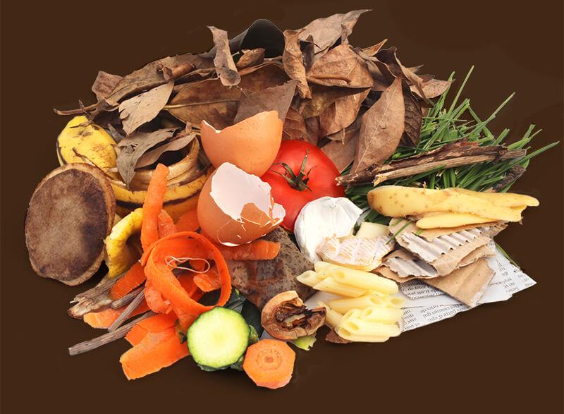 organic compost materials